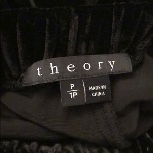 Theory Pants - Theory velvet pants